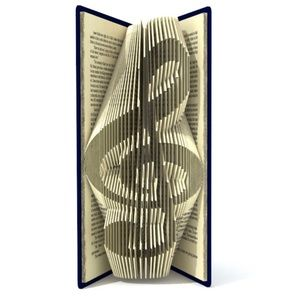 MADE TO ORDER! Musical Note Book Folding GIFT